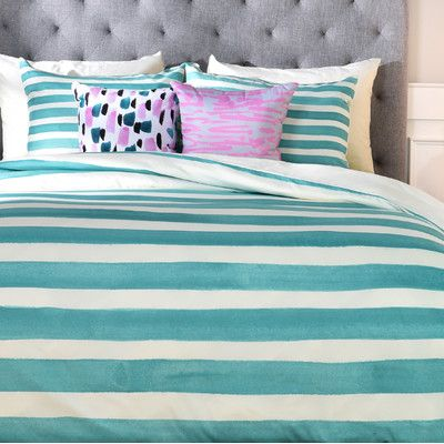 East Urban Home Rebecca Allen a Classic Duvet Cover Size: Queen