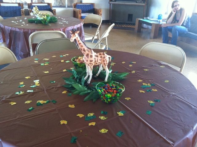 """Photo 3 of 14: Jungle Safari / Baby Shower/Sip & See """"Safari Baby Shower"""" 