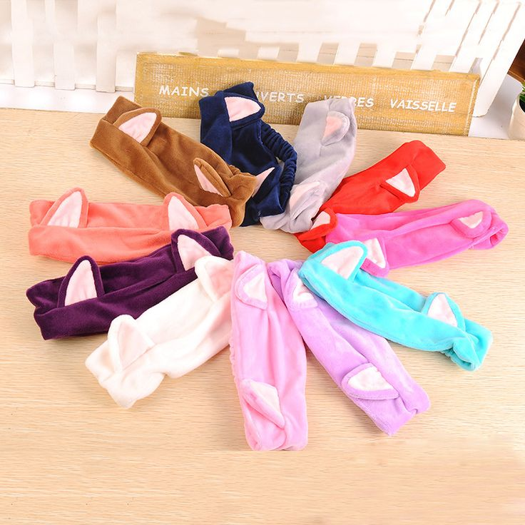 Cheap cat ear headband, Buy Quality ears headband directly from China headband women Suppliers: Huanrui Fluorescence Color Elastic Hair Bands Hair Holders ponytail Rubber Hairband Hair Accessories For Women Girl Hair