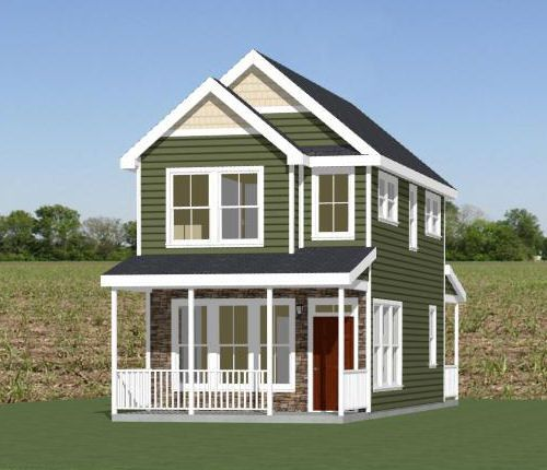 16x30 tiny house 16x30h22 901 sq ft excellent for 16x30 house plans