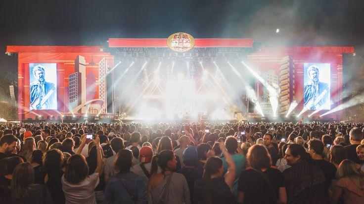 Main Stage 1 • Lollapalooza Berlin • Kings Of Leon • #lollaberlin • #festival • #berlin • Foto: Stephan Flad