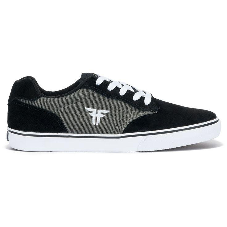 Fallen Chief Xi Black/gold Thomas Signature Skate Shoes Sz 7 caHqeG