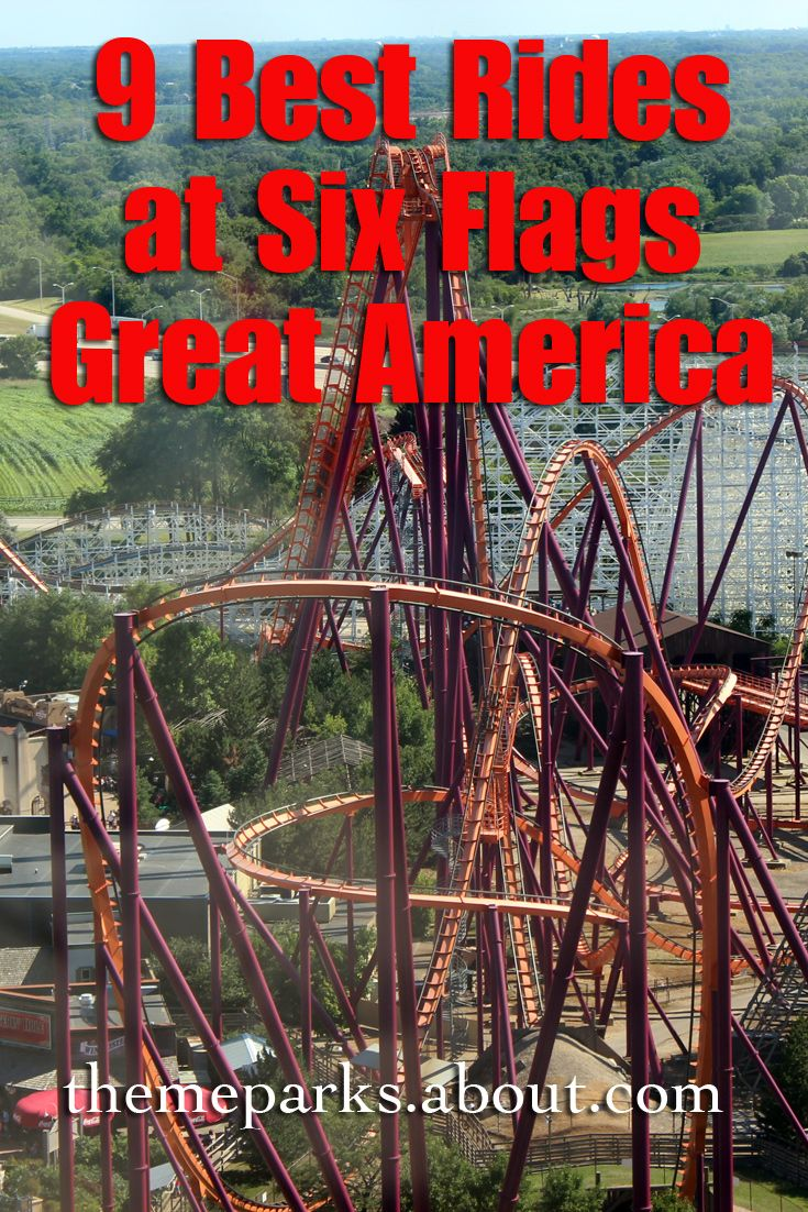 Heading to Six Flags Great America? These are the rides not to miss.