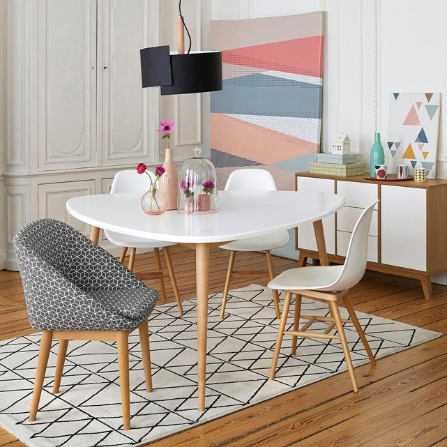 Image Jimi 6-Seater Dining Table La Redoute Interieurs