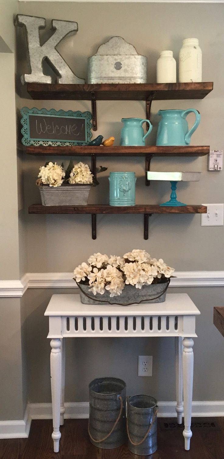 1317 best home decor images on pinterest farmhouse style - Diy living room wall decorating ideas ...