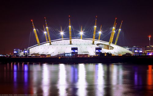 The O2 arena! So many concerts so fun!