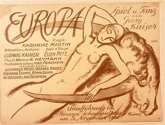 Revue 'Europa' in the Grosses Schauspielhaus Berlin 1920