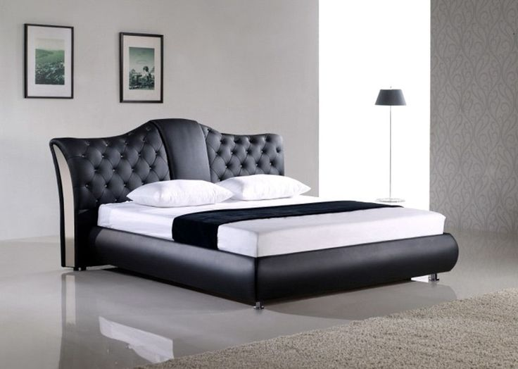 Exclusive leather high end platform bed plano texas for Classic home designs inc