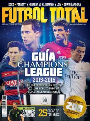 Revistas PDF En Español: Revista Futbol Total México - Octubre 2015 - PDF H...