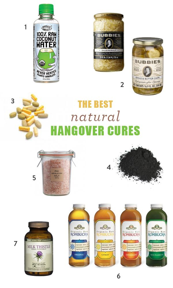 The 6 Best Natural Hangover Cures