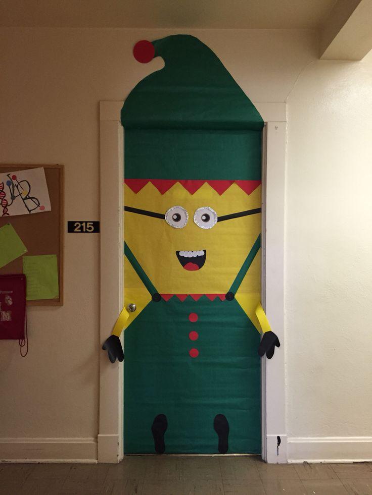 Minion Elf door