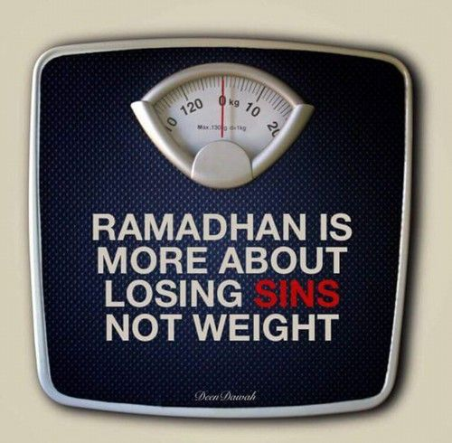 Keep your intentions right, because the reward of fasting is only with Allah (swt). Alhamdulillah