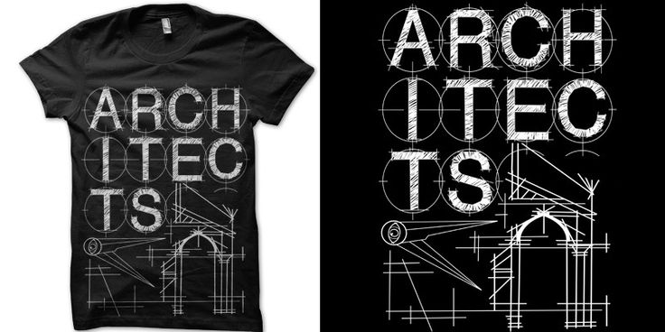 Architects 39 architecture t shirt design by alexarrows for Architecture t shirts