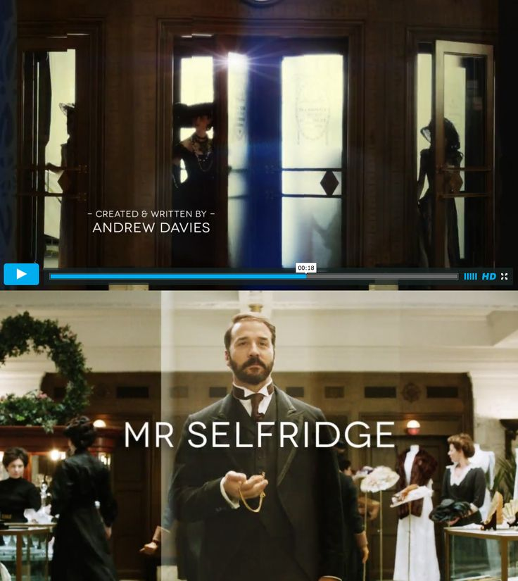 """Novecento font in use:  screenshots from the opening credits of """"Mr Selfridge"""".  http://vimeo.com/52084885"""