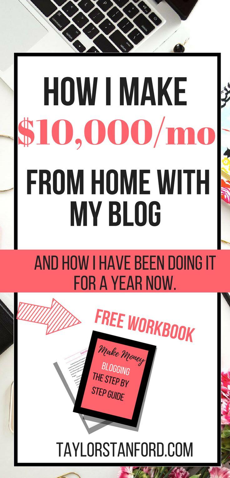 How To Start Making Money Blogging. How I make $10000 Blogging #blogging #bloggingtips