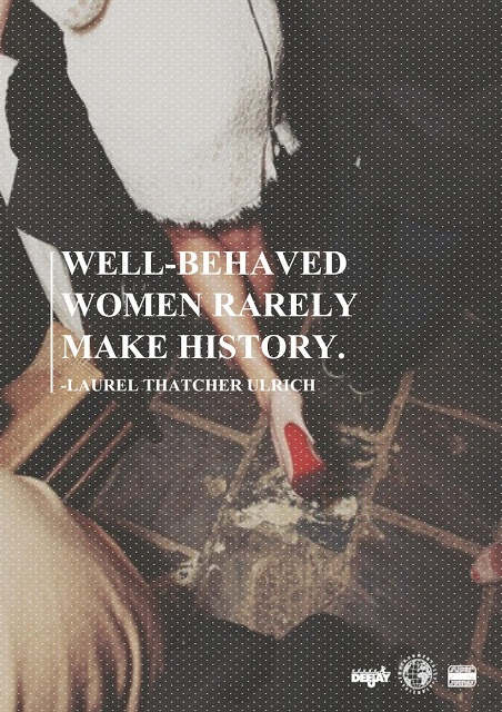 well-behaved women rarely make history   elaine tham
