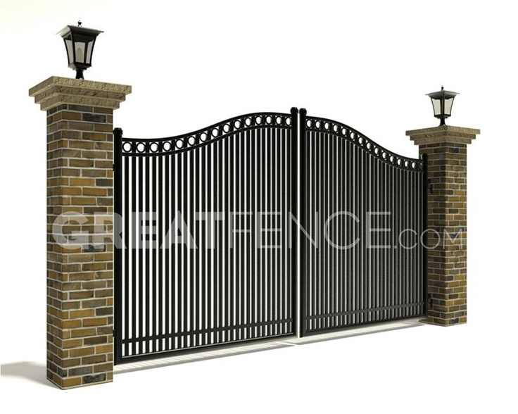 Residential Estate Gate - Style 7