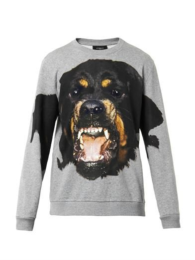 Givenchy Rottweiler sweater.