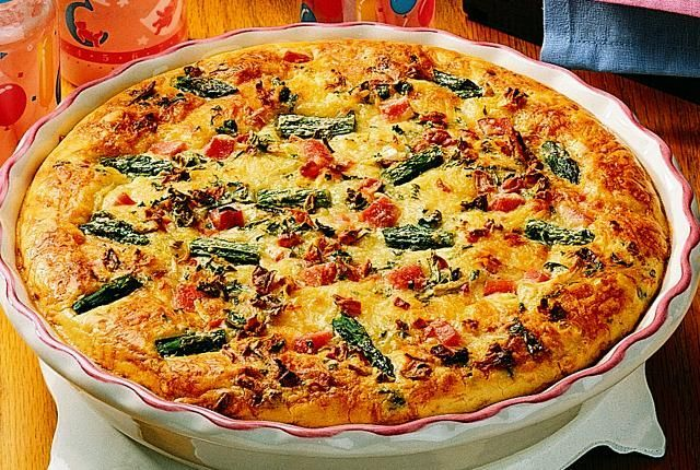... Quiche De Aspargos no Pinterest | Quiches, Receitas De Quiche e