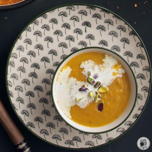 Καροτόσουπα με κύμινο (Μαρόκο)