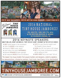 sidebar-2016-poster-tiny-house-jamboree   This already happened but there is a list of tiny and modular house builders (most in and around Colorado) on this page.