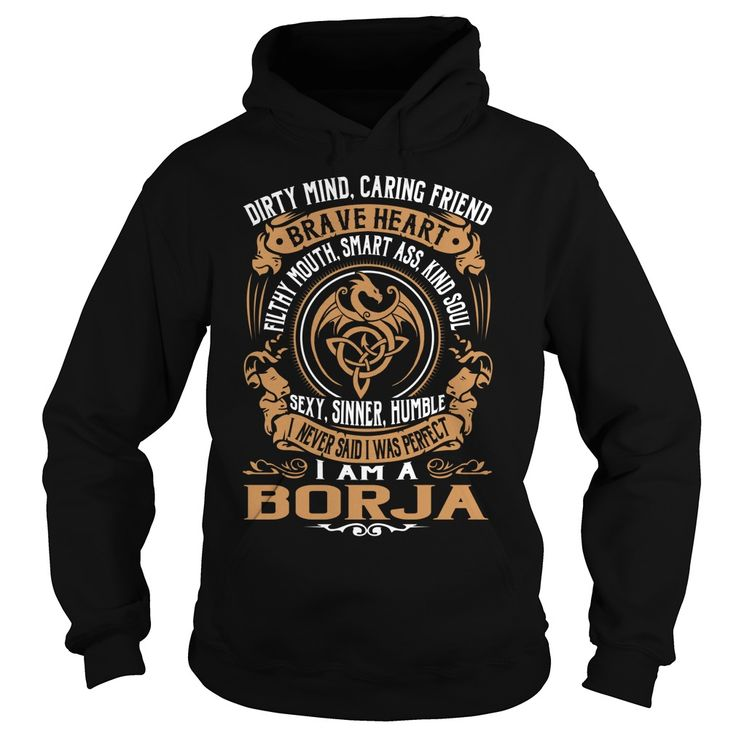 BORJA Brave Heart Dragon Name Shirts #Borja