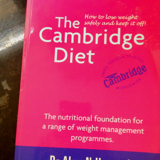 CAMBRIDGE DIET EXPLAINED. LOW CARBOHYDRATE LIVING.