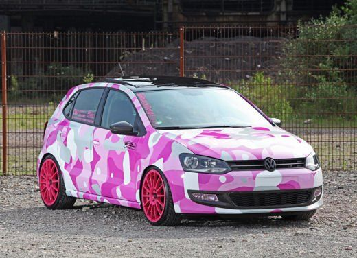 Volkswagen Polo tuning by Car Film Components