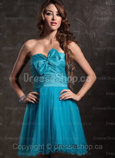sweet bow party dress