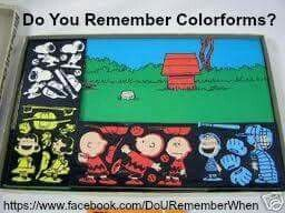 Loved Colorforms!!