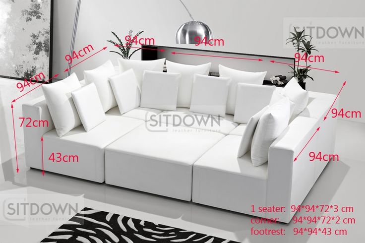 П-образный диван Трансформер - купить большой модульный диван. Цена и фото на…