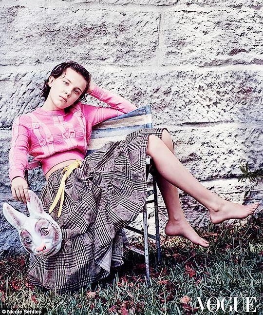Millie Bobby Brown for Vogue Australia