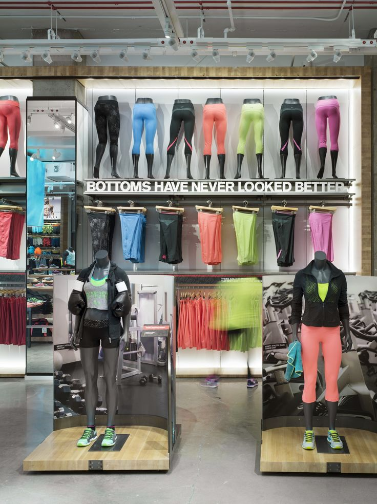 "UNDER ARMOUR, Baltimore, Maryland, ""Bottoms have never looked so good"", photo by Ben Rahn, pinned by Ton van der Veer"