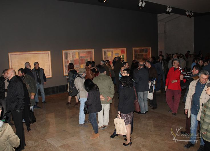 Exhibition: Sahak Poghosyan: silence of my grandmother's eyes. Read about this in www.arvestagir.am.