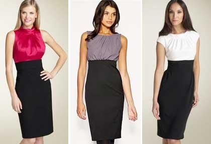 Выкрайки женских деловых костюмов и платьев