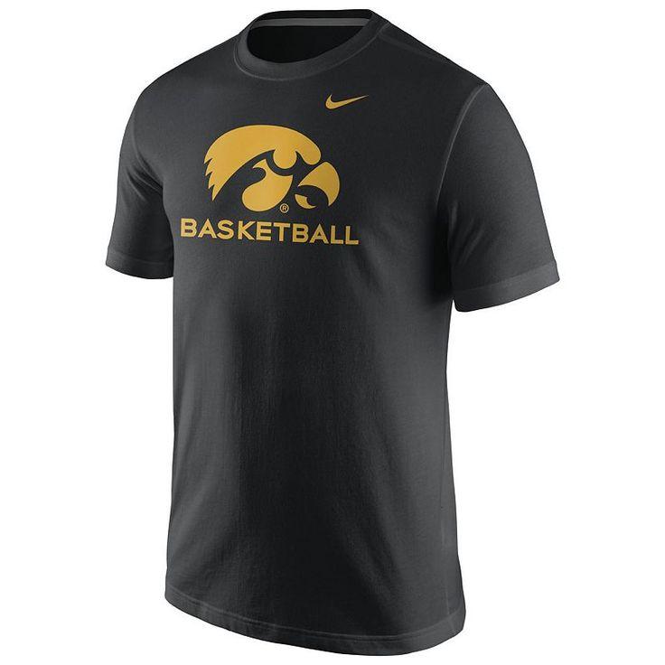Men's Nike Iowa Hawkeyes Basketball Tee, Size: