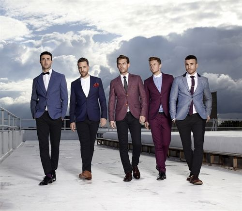 The Overtones (Mark, Lachie, Mike, Timmy, & Darren)