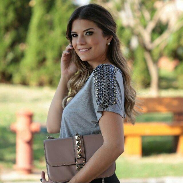 [detalhes] Manga preciosa da blusa mescla desejo da @ArianeCanovas! Must-have NOW  #morinafashion #verao16