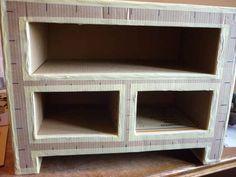 Möbel aus Pappe - Grundgerüst