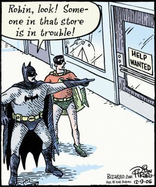 OMG, Batman's a blonde