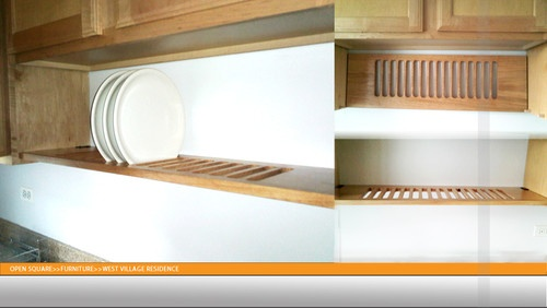 Wooden dish rack contemporary dish racks