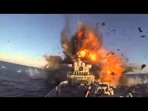 Marinha da Noruega Explode o próprio navio em teste de mísseis!