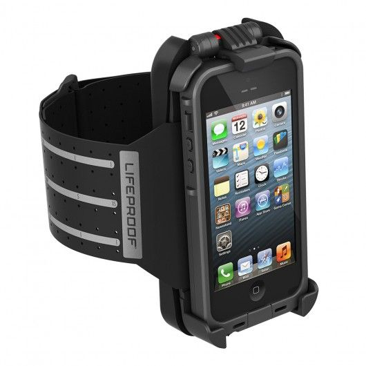 The LifeProof Armband keeps your iPhone 5 within arm's reach – literally – delivering full access to your device while you run, swim, bike and live! 1-year warranty.