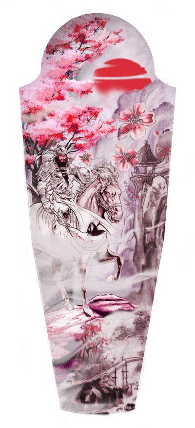 """Guan Yu"" Tattoo Design ©2014 CUSTOM TATTOO DESIGN ALL RIGHTS RESERVED."