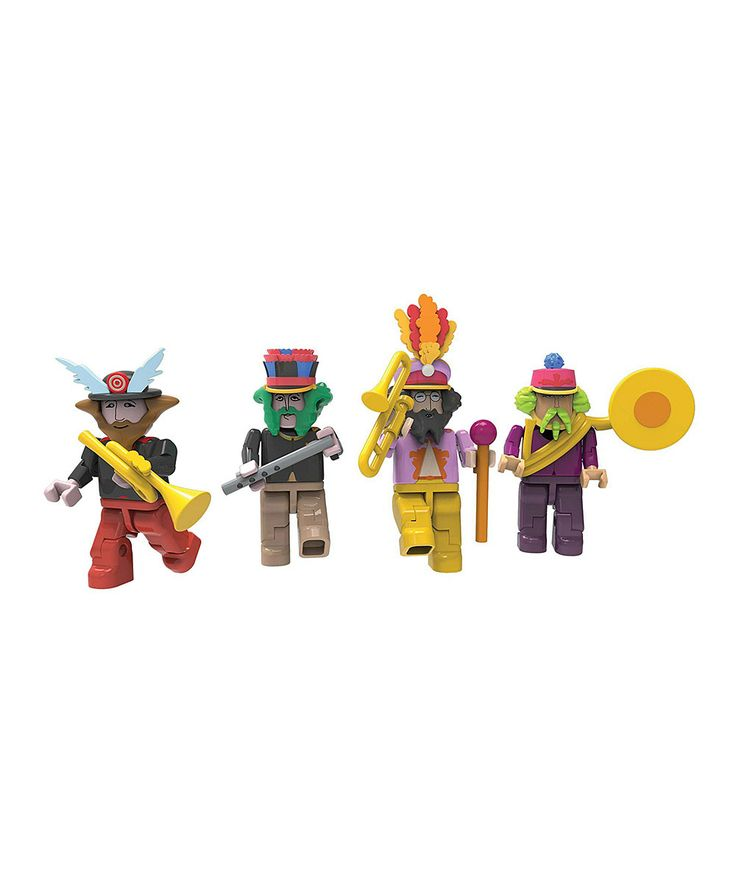 Look what I found on #zulily! Beatles Yellow Submarine Buildable Figure Set by The Beatles #zulilyfinds. $9.99, 7yrs up (small parts)