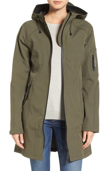 Ilse Jacobsen Regular Fit Hooded Raincoat available at #Nordstrom