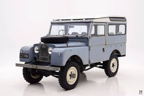1955 Land Rover Series II Station Wagon For Sale