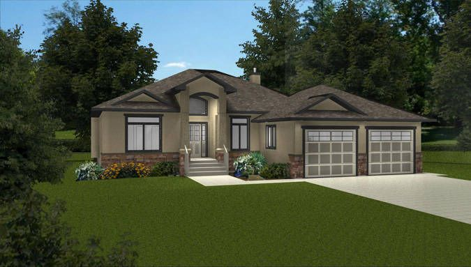 28 best images about western canadian home plans on for Open concept bungalow house plans canada