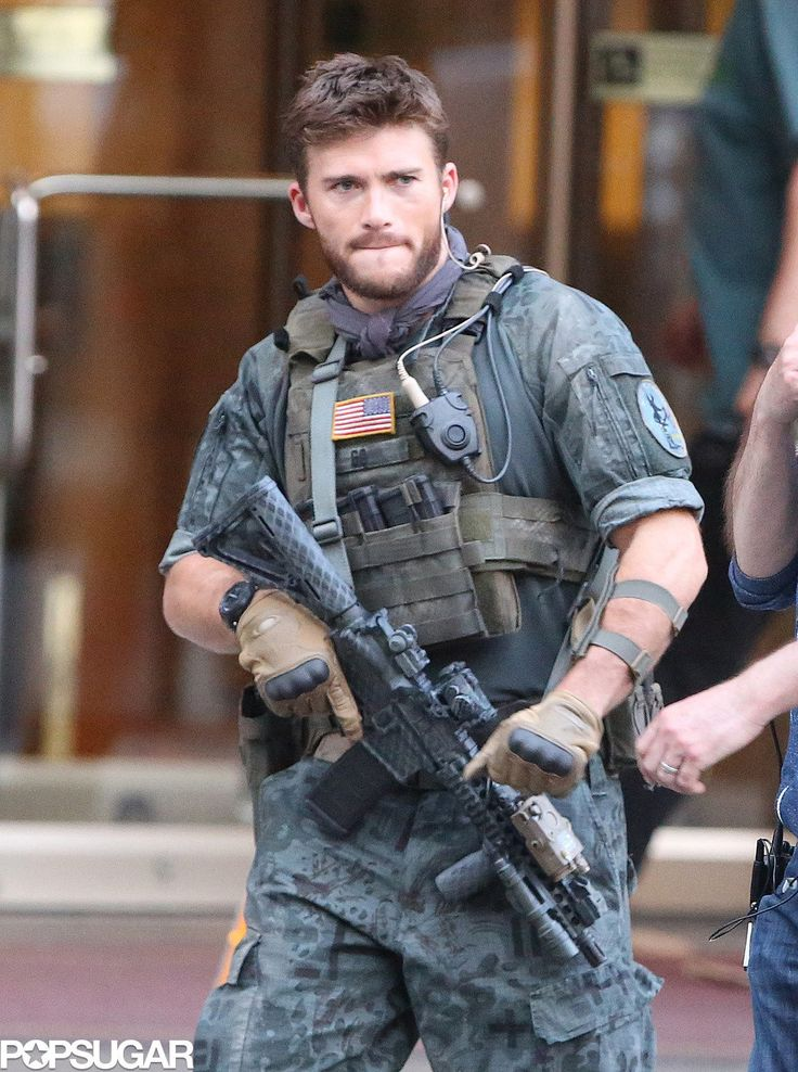 Scott Eastwood looked ready to rumble. | The Suicide Squad Can't ...