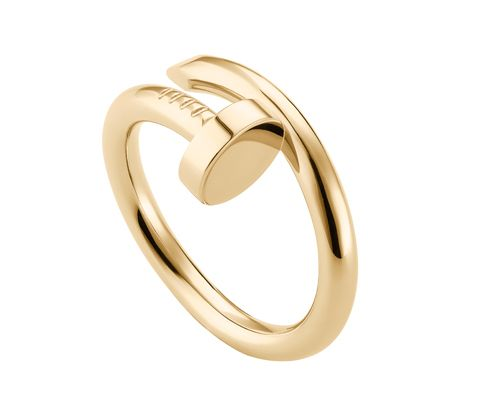 #RocksMyWorld: Golden Rings for Gifting or Receiving - Cartier Juste un Clou Gold Ring, cartier.us #InStyle